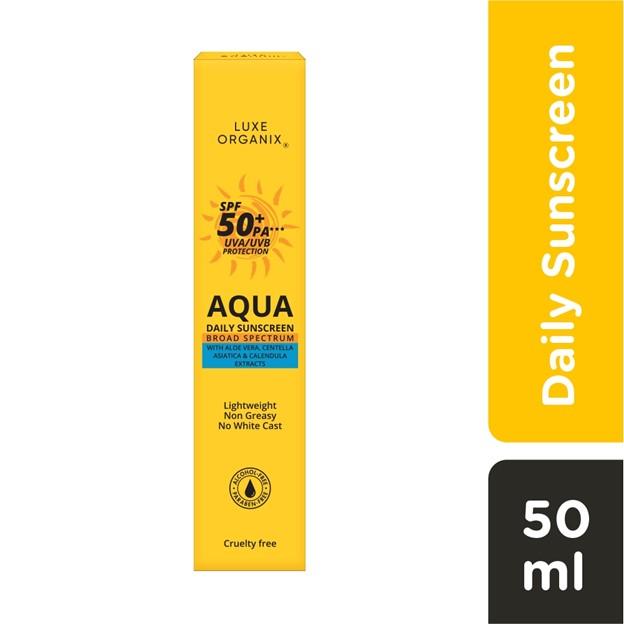 Luxe Organix Aqua Daily Sunscreen philippines