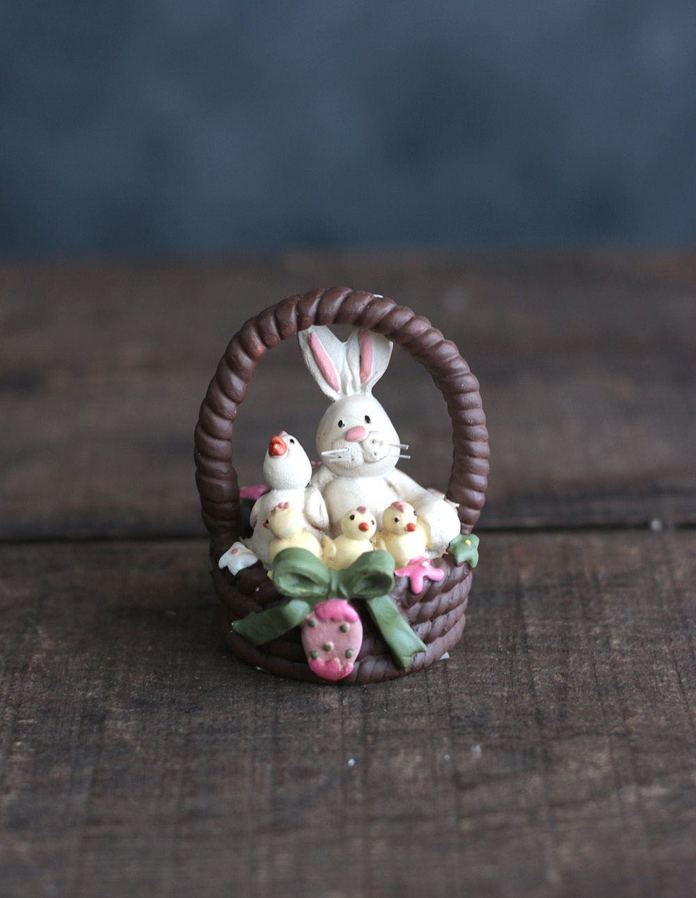 Bunny Rabbit Family Figurine