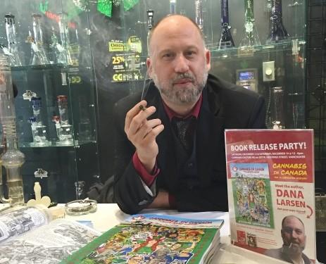 Pot activist mails marijuana message to Liberal Gov't MPs — a book with a gram enclosed