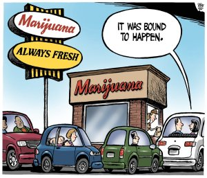 Marijuana Legalization As Seen By Canada's Editorial Cartoonists