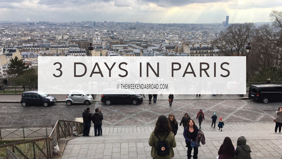 Paris in 3 Days: Things to Do