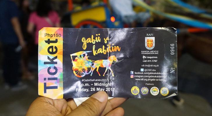 Gabii sa Kabilin - ticket