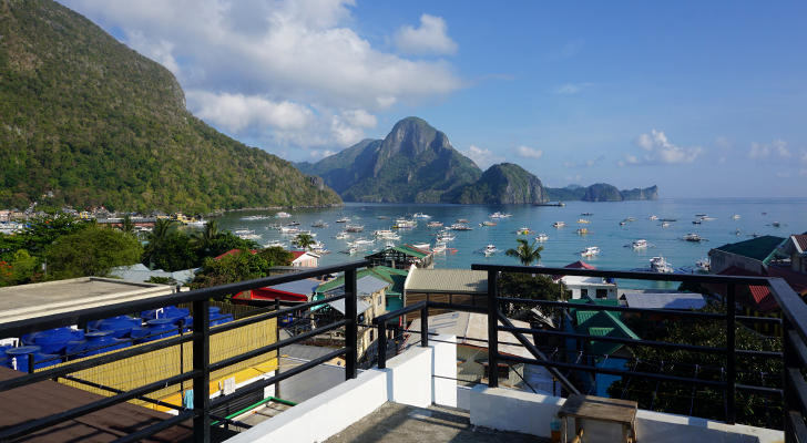 Sea Cocoon Hotel El Nido - bay view