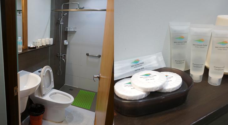 Sea Cocoon Hotel El Nido - toilet and bath