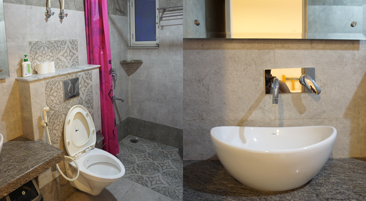 Moustache Hostel Jaipur - ensuite bathroom