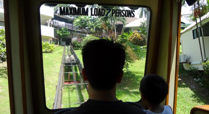 Cape Panwa Phuket - tram