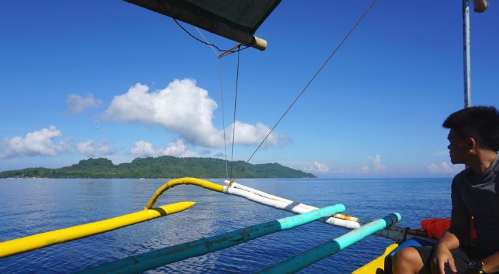 Dinagat island hopping - Unib Island