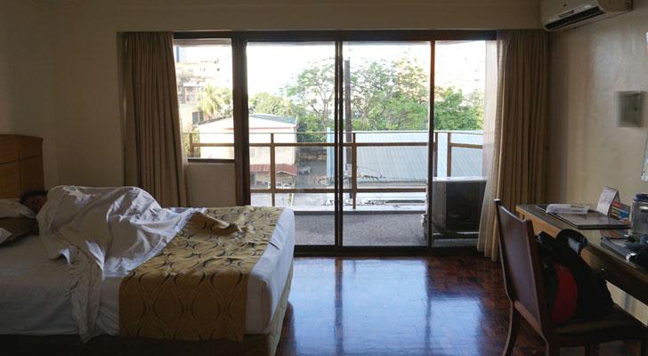 City Garden Suites Manila - balcony view
