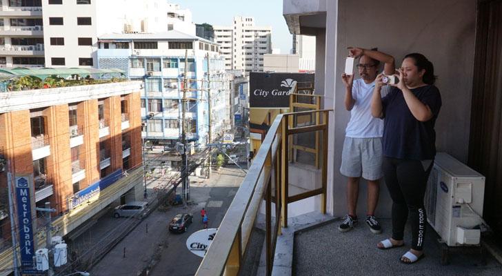 City Garden Suites Manila - balcony