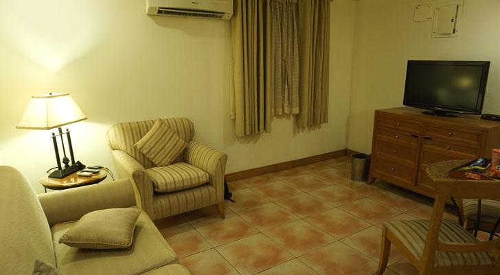 City Garden Suites Manila - receiving area