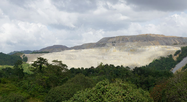 Toledo Cebu - open-pit mine