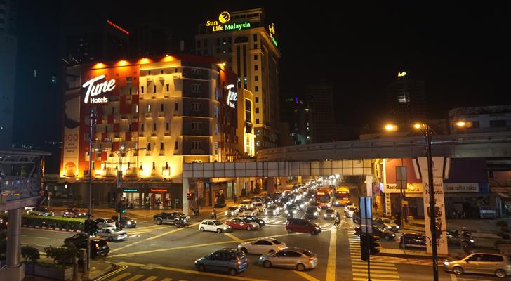 Touchdown Penang - downtown KL