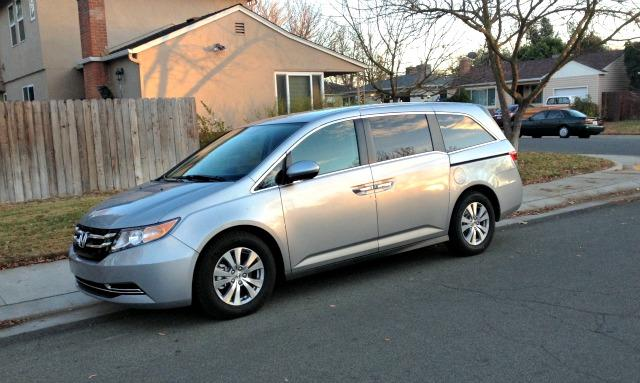 The 2016 Honda Odyssey has automatic sliding side doors.