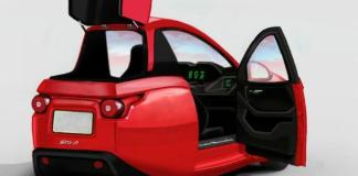 The three-wheel Solo is an electric vehicle manufactured by Electra Mecannica in Vancouver, B.C.