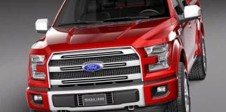 The 2018 Ford F-150 was unveiled at the Detroit Auto Show.
