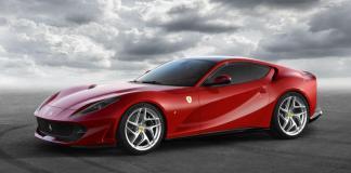 The new Ferrari 812 Superfast will debut at the Geneva Auto Show