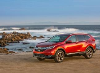 The 2017 Honda CR-V has new interior and exterior designs.
