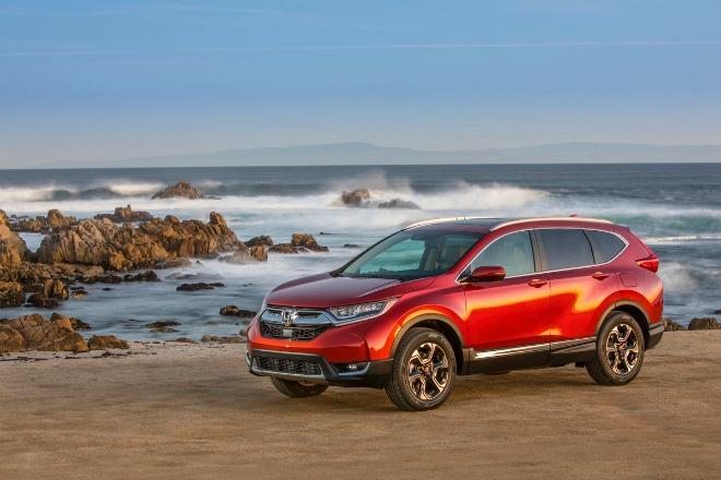 The 2017 Honda CR-V has new interior and exterior designs.