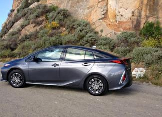 2017 Toyota Prius Prime: Smoth, steady freeway ride.