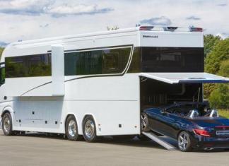 A German manufacturer is offering a $1 million motorhome.