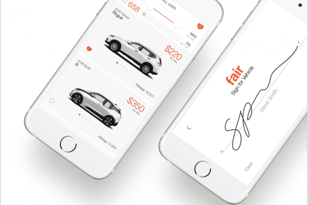 Fair.com and Blinker.com are apps where you can buy or lease a car without dealership issues.