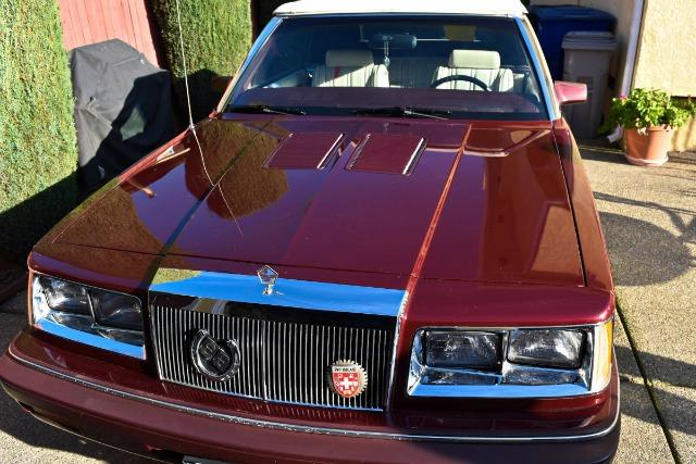 This pristine 1986 Chrysler Lebaron is for sale in East Sacramento.