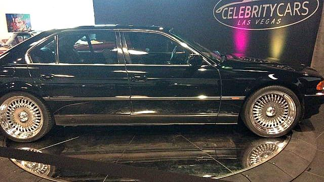 The car Tupac Shakur was riding in when he was shot and killed in Las Vegas nearly 22 years ago.