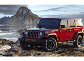 The Jeep Wrangler and Jeep Wrangler Liimited shared top honors on the recent iSeeCars.com as the vehicles with the least depreciation after five years of ownership.