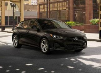 The 2019 Hyundai Veloster is the debut of the second generation of the three-door compact hatchback.