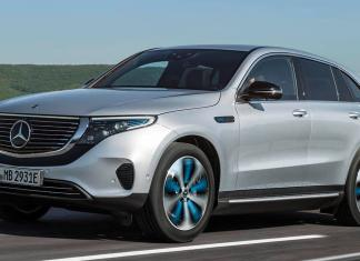 2020 Mercedes-Benz all-electric SUV
