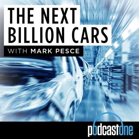 Futurist Mark Pesce hosts the podcast The New Billion Cars