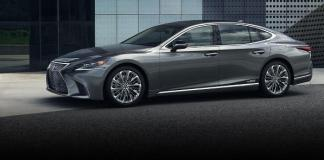 The 2019 Lexus LS 500 is the flagship of the upscale division.