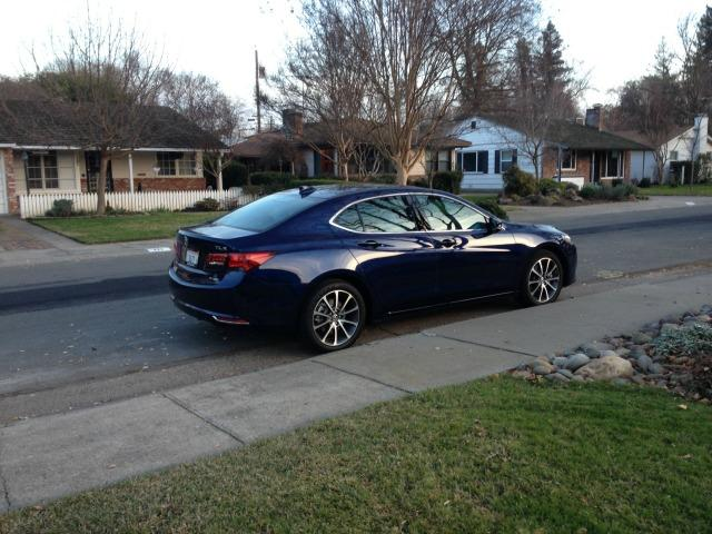 The 2015 Acura TLX is new car for the upscale Honda nameplate.