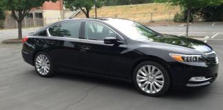 The plush, pricey 2014 Acura RLX
