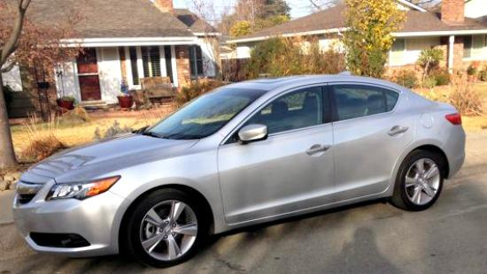 Now in its second year, the 2014 Acura ILX is the manufacturer's smallest and least expensive, entry-level sedan. It's only been available in the United States since May 2012.  Available in four gas-only trims, the 2014 Acura ILX is versatile for its class. The choices: 2.0 liter, 2.0 with Premium package, 2.0 with Technology package and 2.4 with Premium package. And there's also the ILX Hybrid.  As a debuting car in 2013, the Acura ILX for 2014 shouldn't be expected to offer vast changes, but it has been upgraded. Leather seats and a rearview camera are now standard equipment and the audio system has also been improved.  The Weekly Driver Test Drive  My weekly driver was the top-line 2.4-liter with 201 horsepower. It's only available with a six-speed manual transmission, a seemingly less frequent option every year in the auto industry. The ILX has a short, smooth shift, which adds to the sports car feel of the sedan.  The 2.0 and 2.4-liter models include: 17-inch wheels, a sunroof, full power accessories, keyless ignition/entry, a tilt-and-telescoping steering wheel, leather upholstery, an eight-way power driver seat, heated front seats, active noise cancellation, dual-zone automatic climate control, a 5-inch information display screen, Bluetooth phone and audio connectivity, SMS text message functionality, and a seven-speaker sound system with a CD player, a USB/iPod audio interface, satellite radio and Pandora radio smartphone app integration.  Upgrades with the 2.4-liter Premium include: xenon headlamps, foglamps, a rearview camera and an auto-dimming rearview mirror.  As I wrote last year, driving the Acura ILX is delightful. Although at speeds exceeding 60 mph the exhaust pitch changes from a pleasing growl to a more high-pitched tone, the Acura was smooth.  In both city and highway driving scenarios, the new Acura was controlled and comfortable. Automatic transmission fanciers might be initially disappointed since the model is only available with a manual tra