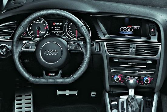 The 2013 Audi RS5 is a race car for the street.