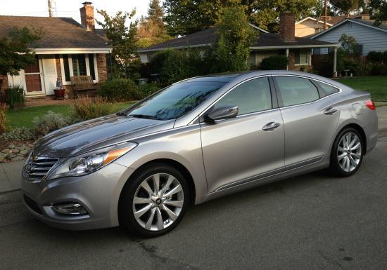 The 2013 Hyundai Azera is a near-luxury sedan.