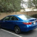 The five-passenger Toyota Camry has good interior space.