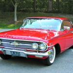 The second generation of the Chevrolet Impala.