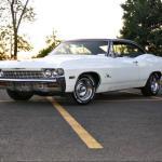 The 1968 fourth generation Chevrolet Impala.