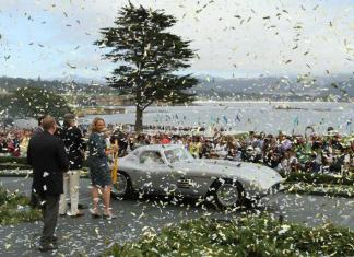 Sandra Button the chairwoman of the Pebble Beach Concours d'Elegance.