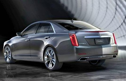 The 2014 Cadillac CTS is then Motor Trend Car of the Year.