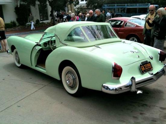 A rare Kaiser Darrin at Monterey Auto Week