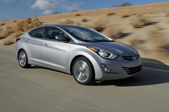 The 2014 Hyundai Elantra has been refreshed and will be featured in the 2014 Super Bowl.