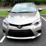 """The 2014 Toyota Corolla has an """"angry"""" front grille."""