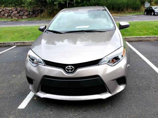 "The 2014 Toyota Corolla has an ""angry"" front grille."