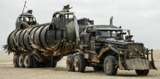 Part of the vehicle entourage in Mad Max: Fury Road an Academy Awards nominee for Best Picture.