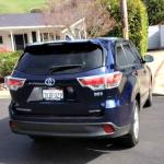The 2016 Toyota Highlander hybrid offers three rows of seating.