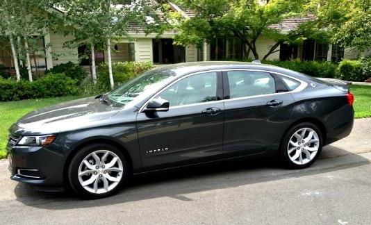 The Chevy Impala has been redesigned for 2014