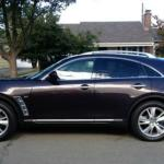 A new look and ever-changing color for the 2014 Infiniti QX70.